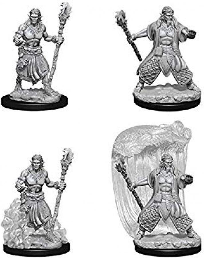 Dungeons & Dragons: Nolzur's Marvelous Miniatures - Water Genasi Druid
