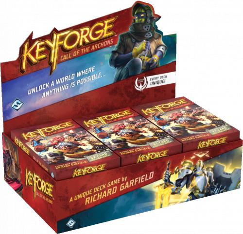 KeyForge (edycja angielska): Call of the Archons - Archon Deck (Display Box 12 talii)