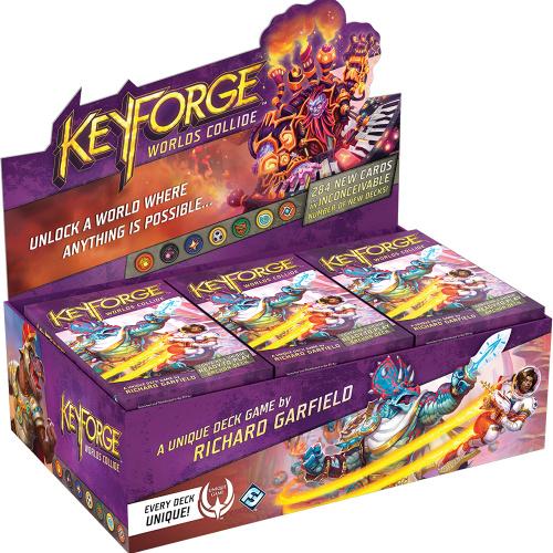 KeyForge (edycja angielska):   Worlds Collide -   Archon Deck (Display Box 12 talii)