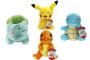 Pokémon - Pluszaki Kanto display 6 sztuk (20 cm.)