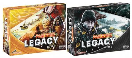 Pandemic Legacy: Sezon 2 - MIX  4 sztuki