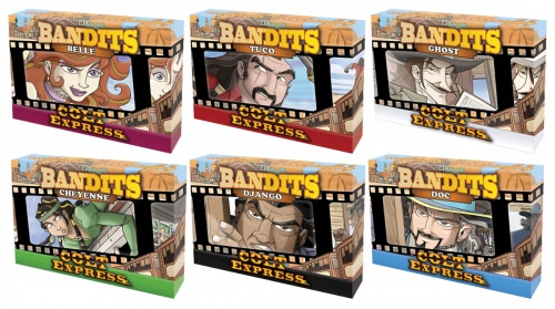 (Pakiet) Colt Express Bandits