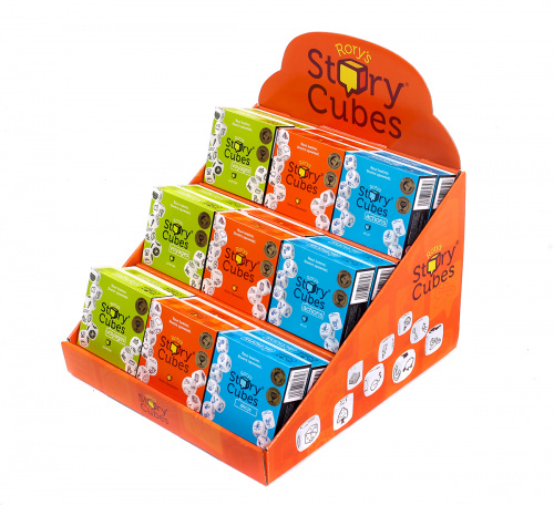 (Display) Story Cubes