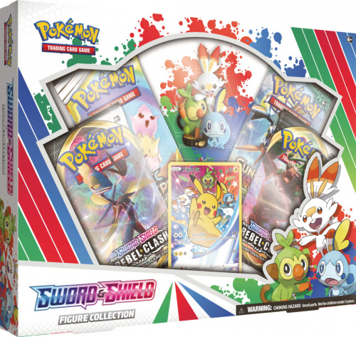 Pokemon TCG: Sword & Shield - Rebel Clash May'20 Figure Collection