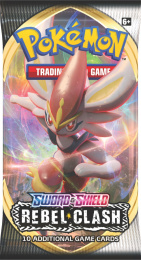 Pokemon TCG: Sword & Shield - Rebel Clash Booster
