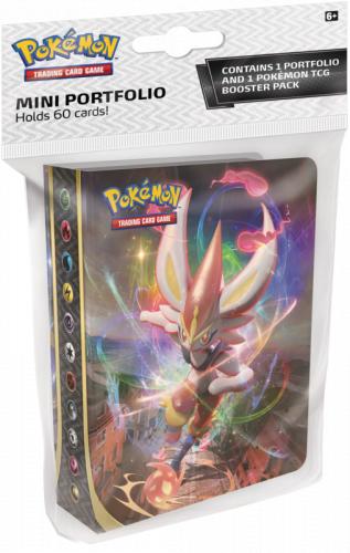 Pokemon TCG: Rebel Clash - Album Mini na 60 kart + booster
