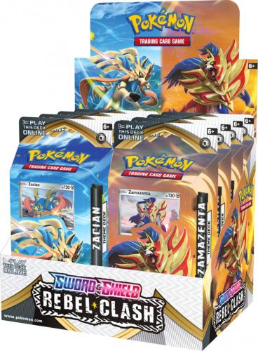 Pokemon TCG: Rebel Clash - PCD Theme deck (Display 8 szt.)