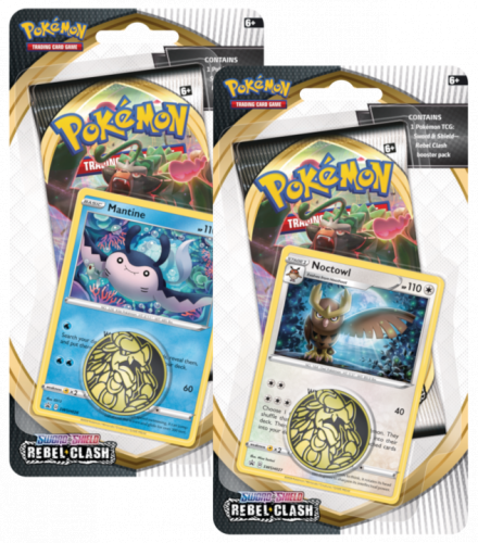 Pokemon TCG: Sword & Shield - Rebel Clash Checklane Booster (Display 16 szt.)
