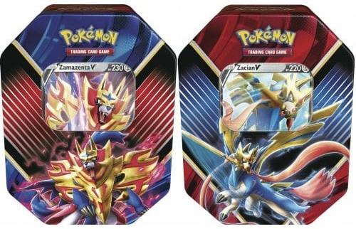 Pokemon TCG: Rebel Clash - Legends of Galar Tin (Display 6 szt.)