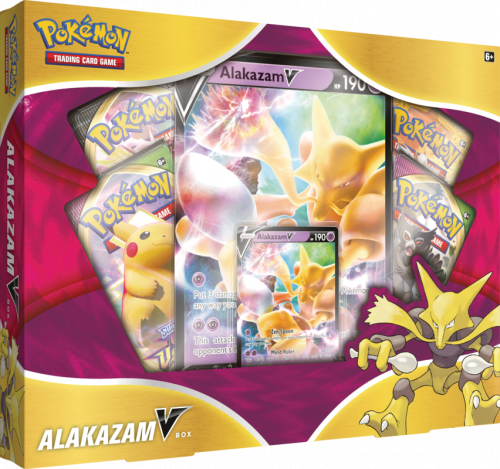 Pokemon TCG: SWSH 05 V Box January -  Alakazam