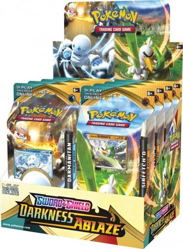 Pokemon TCG: Darkness Ablaze - PCD Theme Deck (Display 8 szt.)