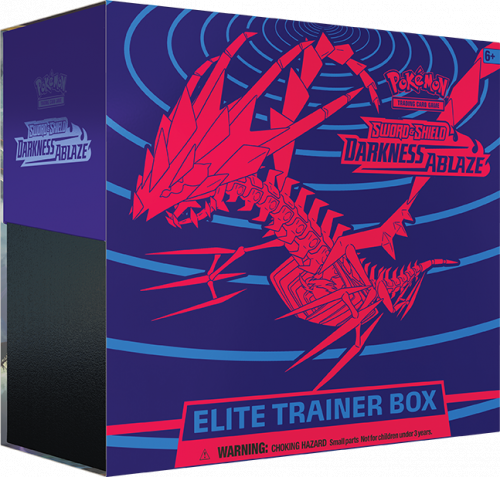 Pokemon TCG: Darkness Ablaze - Elite Trainer Box