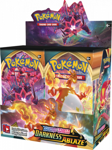 Pokemon TCG: Darkness Ablaze - Booster (Display 36 szt.)