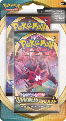 Pokemon TCG: Darkness Ablaze - 2w1 Blister (Display 12 szt.)