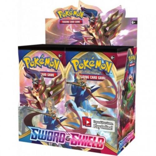 Pokémon TCG: Sword and Shield - Booster (Display 36szt.)