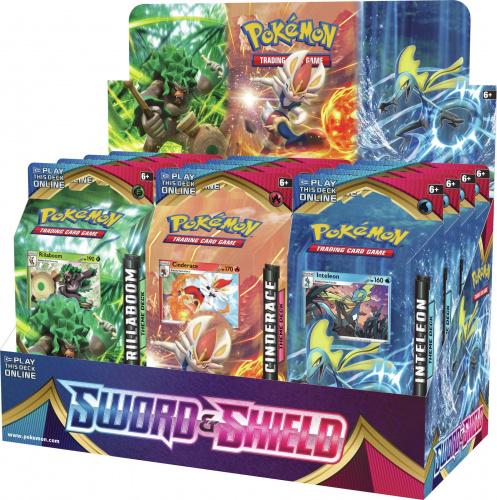 Pokémon TCG: Sword and Shield - PCD Theme Deck (Display 12szt.)