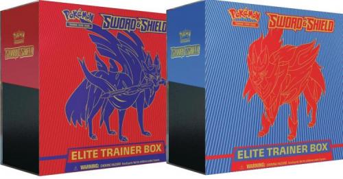 Pokémon TCG: Sword and Shield - Elite Trainer Box (Display 10szt.)