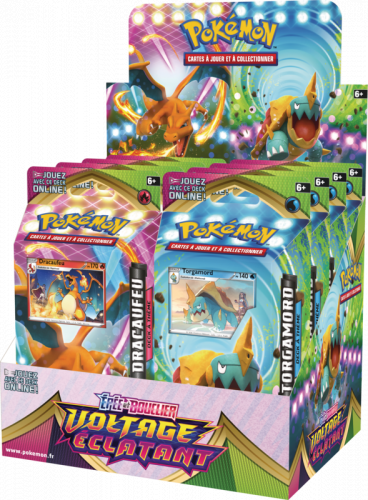 Pokemon TCG: Vivid Voltage - PCD Theme Deck (Display 8 szt.)