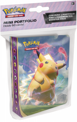 Pokemon TCG: Vivid Voltage - Album Mini na 60 kart + booster