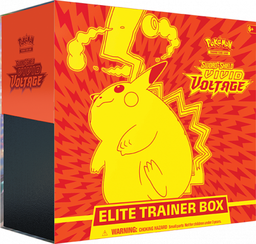 Pokemon TCG: Vivid Voltage - Elite Trainer Box