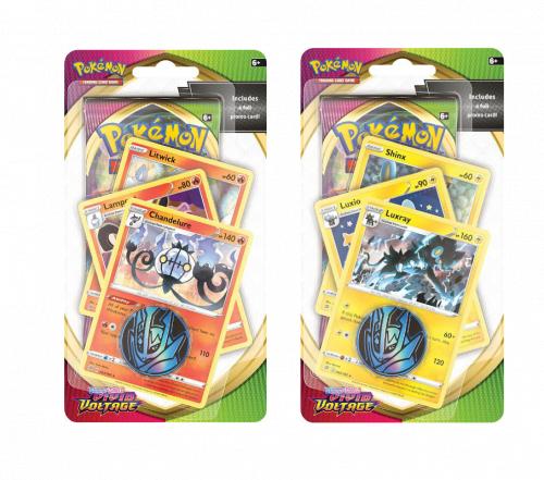 Pokemon TCG: Vivid Voltage Premium Checklane  (16 szt.)