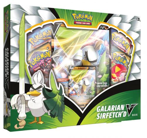 Pokemon TCG: 3,5 Champion's Path - VBox September Sirfetch'd