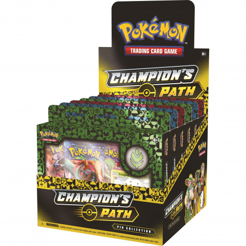 Pokemon TCG: 3.5 Champion's Path - Pin Collection September (Display 6szt.)
