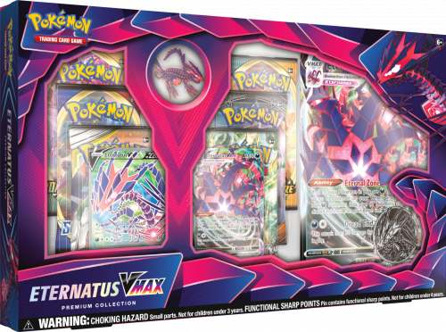 Pokemon TCG: 3,5 Champion's Path - Pin Box September Eternatus Vmax