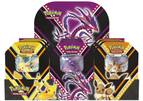 Pokemon TCG: Fall Tin'2020 (Display 9szt.)