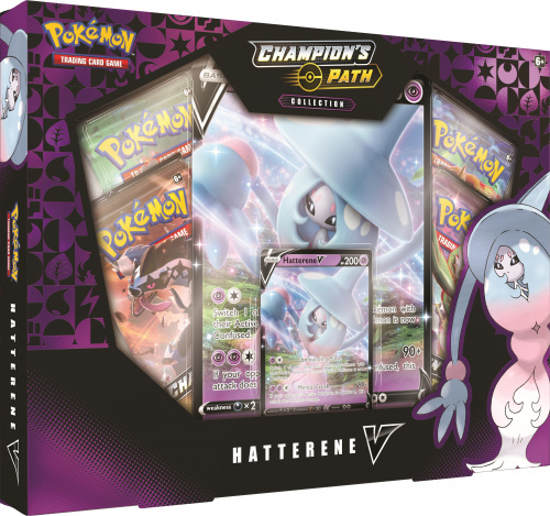 Pokemon TCG: 3.5 Champion's Path - VBox October Hatterene
