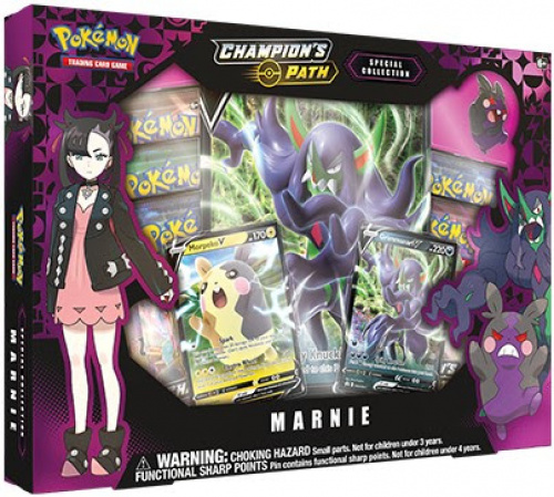 Pokemon TCG: 3.5 Champion's Path - Premium Vmax Box October Marnie
