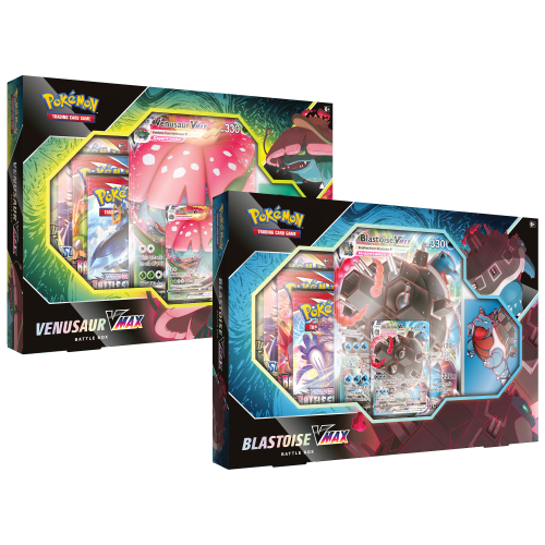 Pokemon TCG: V Max Battle Box Display (6)