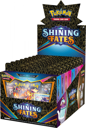 Pokemon TCG: 4.5 Shining Fates Pin Box (8)
