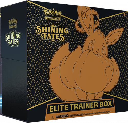 Pokemon TCG: 4.5 Shining Fates - Elite Trainer Box
