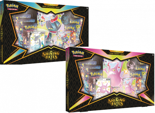 Pokemon TCG: 4.5 Shining Fates Premium V Box Display (6)