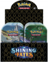 Pokemon TCG: 4.5 Shining Fates mini Tins (10)