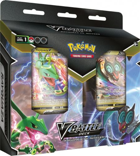 Pokémon TCG: V Battle Deck Bundle Rayquaza vs. Noivern