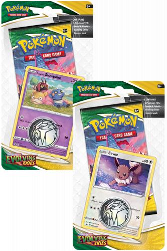 Pokémon TCG: Evolving Skies Checklane Blister (16)
