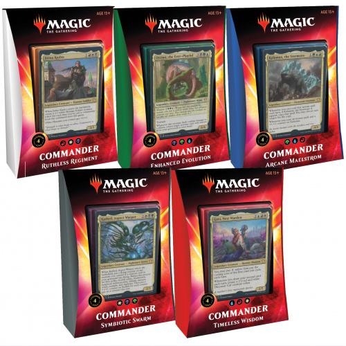Magic: The Gathering: Ikoria - Lair of Behemoths Commander Deck Display (5 Decks)