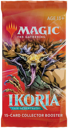 Magic: The Gathering: Ikoria - Lair of Behemoths Collector Booster Display (12 Packs)