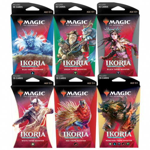 Magic: The Gathering: Ikoria - Lair of Behemoths Theme Booster Display (12 Packs)