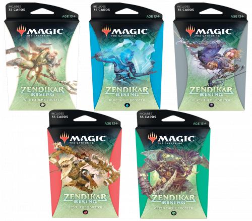 Magic: The Gathering: Zendikar Rising - Theme Booster Display (12)