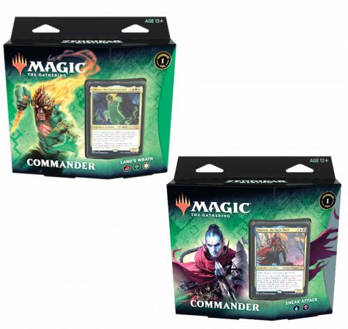 Magic: The Gathering: Zendikar Rising - Commander Display (6)