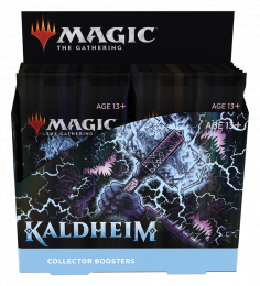 Magic The Gathering: Kaldheim - Collector Booster Display (12)