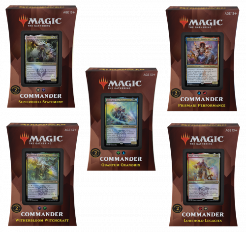 Magic The Gathering: Strixhaven - School of Mages - Commander Deck  Display (5 szt.)