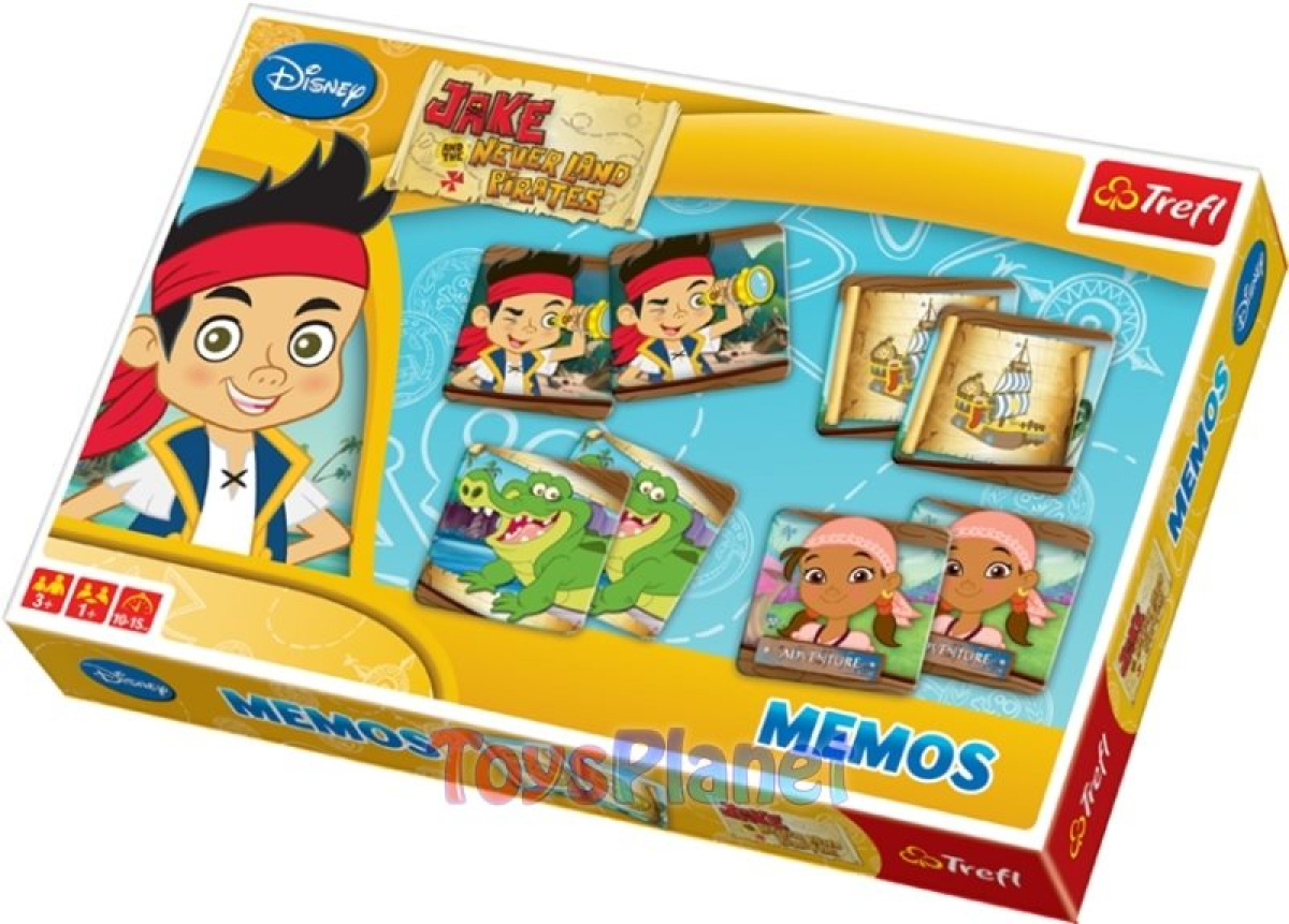 Jake and the Never Land Pirates Memos