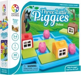 Smart Games - Three Little Piggies Deluxe (Trzy małe świnki)