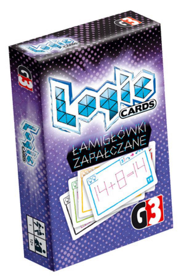 Logic Cards - Łamigłówki zapalczane
