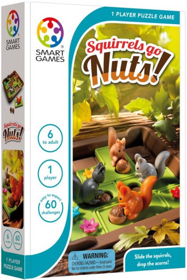 Smart Games - Squirrels go nuts! (Wiewiórki atakują)