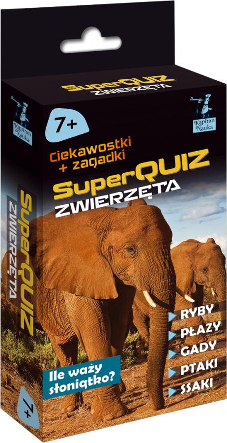 SuperQuiz: Zwierzęta